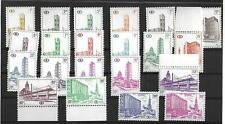 Belgium stamps 1953 OBP SP336-SP354B MNH VF TRAIN stamps