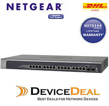 NETGEAR ProSAFE XS716T 16 Port 10 Gigabit Ethernet Smart Managed Switch