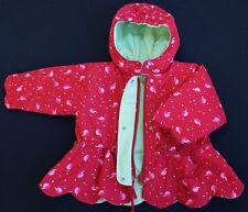 Marese designer manteau bébé fille 6 mois rouge cerises