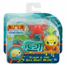New Octonauts Tunip & The Sea Snot Blob Creature Figure Pack Official