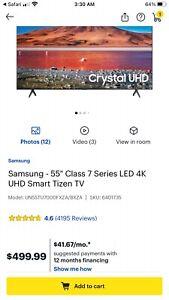 """Samsung 55"""" uhd 7 series - 4K UHD TV - Smart -LED with -HDR"""