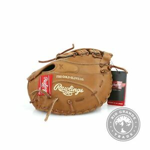 NEW Rawlings Heart of the Hide Series Baseball Glove in Tan First Base Mitt