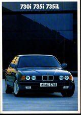 BMW <730,735i,735iL> PROSPEKT/KATALOG 1986 (BROCHURE)