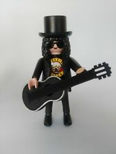 Playmobil custom SOLO  SLASH  GUNS & ROSEs, AXL western, medieval...
