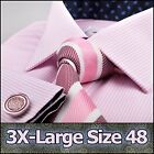 Men's Pink Formal Business Dress Shirt Small Size 48 Promotional Sale Clearance