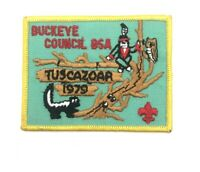 Vintage 1979 Boy Scout Buckeye Council Canton Ohio Tuscazoar Patch