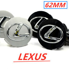 4Pcs Wheel Center Caps Rim Center Hub Caps Badge Emblem 62Mm For Lexus 2006-2019