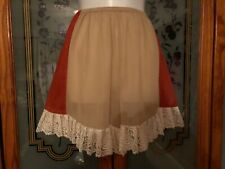 gorgeous sissy, cami, french  knickers size XL  30-38 or 40 comfortably