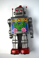1960's SH Gear Robot Toy with box