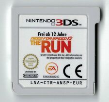 Need for Speed The Run Nintendo 3ds 2ds Spiel Cartridge Cart Only