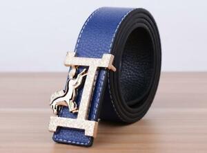 Luxury Buckle Belt Belts For Men High Quality Genuine Fashion Design PU Leather