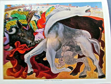 Pablo Picasso Poster Bullfight Death of a Toreador 14x11 Unsigned Offset Litho