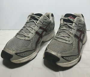 ASICS Gel-Express Running Cross-Training Shoes Red Black Silver Size 11.5