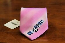 MOSCHINO Men's Pink Tie 100% Silk New with Tags Free Shipping Made in Italy