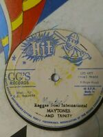 "The Maytones & Trinity-Reggae Soul International 12"" Vinyl Single"