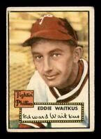 1952 Topps Set Break #158 Eddie Waitkus VG *OBGcards*