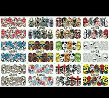 Halloween Nail Wraps water decals  Halloween Nail wraps set of 12