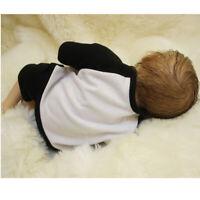 Newborn Baby Dolls Vinyl Silicone Lifelike Newborn Doll Model DIY 18''