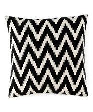 "Shiraleah Bedding Mercer Cotton 20"" Square Decorative Pillow Black E5124"