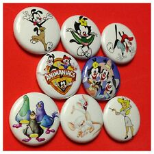 "ANIMANIACS 1"" buttons pinbacks Yacko, Wacko, Dot Cartoons in the 90s"