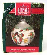 "1991 Hallmark Ornament "" Betsey Clark: Home for Xmas"