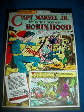 CAPTAIN MARVEL JR. Original COLOR GUIDE Complete Story Shazam #24 1976 8 pages
