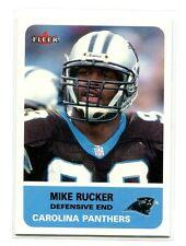 2002 Fleer #26 Mike Rucker Nebraska/Carolina Panthers Rookie