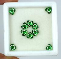 Colombian Emerald 3.95 Ct/10pcs Gemstone Lot Heart Shape Natural Certified