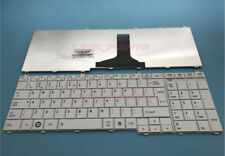 For Toshiba Satellite C650 C655 C655D C660D C670D English Keyboard White