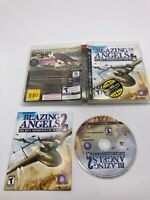 Sony PlayStation 3 PS3 CIB Complete BLAZING ANGELS 2 Secret Missions of WWII