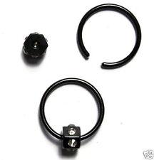 Markenlose Ohrläppchen Piercing-Ringe