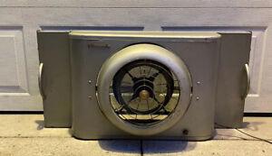 Vtg 1940's 1950's Eames Era Vornado Window Electric Fan Machine Age Retro 3 Spd