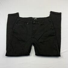 Elwood Men's Jeans Denim Slim Tapered Street Wear Black Size 29