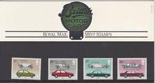 GB 1982 británico automóviles presentación Pack 139 SG 1198 1201 conjunto de menta Stam