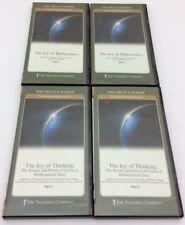 Teaching Company The Joy of Thinking 4 DVDs 2 Booklets Joy of Mathematics Math
