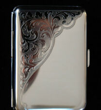 Venice Double Sided Pocket Cigarette Case Mirror Finish Made in Germany