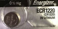 1 New ENERGIZER CR1220 Lithium 3v Coin Battery Australia Stock FAST SHIPPING