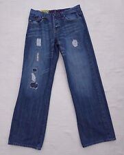 VOI mens distress/bleach torn/patched style jeans Size 32