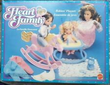 The Heart Family Mattel Baby's Playset vintage 84'