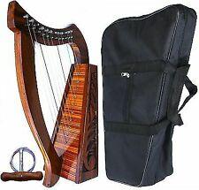 Deura DH12 12 Strings Baby Harp Bag Irish Celtic Style Knotwork Design