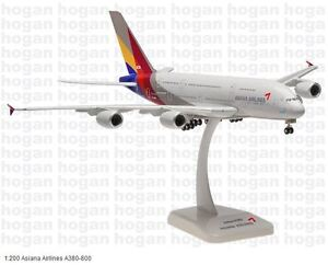 Hogan Wings 0168, Asiana Airlines A380-800, 1:200