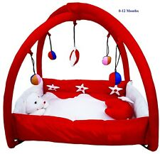 Smart Baby Bassinet & Cradle Bedding Set in Large Size PlayGym Met – Red Colour