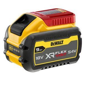 DeWalt DCB547 18v 54volt  XR FLEXVOLT 9 Ah Li-ion Battery Pack Flex Volt