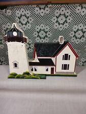 Shelia's 1990 Stage Harbor Light House Massachusetts Shelf Sitter