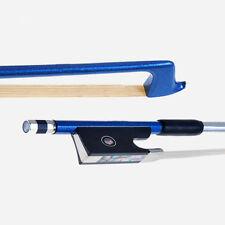 4/4 VIOLIN BOW New Superior Carbon Fiber BOW 4/4 BOW Blue Color