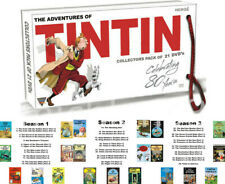 The Adventures of Tintin (39 Episodes,21-Disc,DVD Set) Complete Series