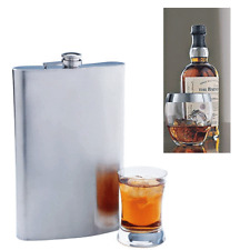 Jumbo Flask 64 oz Stainless Steel Alcohol Drink Cap Large Party Novelty Gift Bar