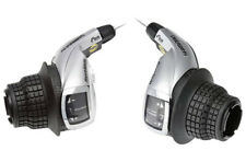 Shimano REVOSHIFT 8 & 3 Speed Bike Cycle MTB Twist Grip Index Gear Shifter Set