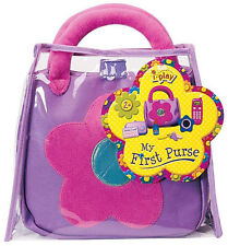 My First Purse Toy Cell Phone Lipstick Keys Wallet Pink Toddler NEW