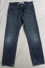 Levi's 511 Slim Skinny Boys Stretch Denim Jeans Dark Tag Size 16 R Measure 29x29